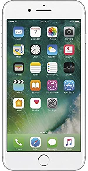 Apple iPhone 7 Plus Unlocked Phone 32 GB - US Version (Silver)