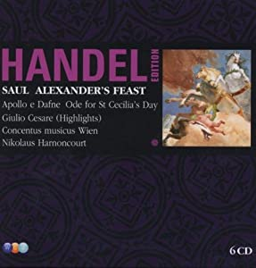 Handel Edition : Vol.7 Saul ; Alexanders Feast ; Apollo E Dafne ; Giulio Cesare Highlights