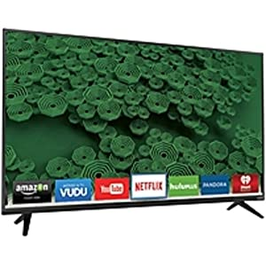 VIZIO D D65U-D2 65-inch 4K Ultra HD LED Smart TV - 3840 x 2160 - 240 Clear Action Rate - Wi-Fi - HDMI (Certified Refurbished)