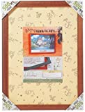 ジブリ作品専用 ジグソーパネル 500ピース 500Pフレーム 5-B ウォールナット (38×53cm) 5-B