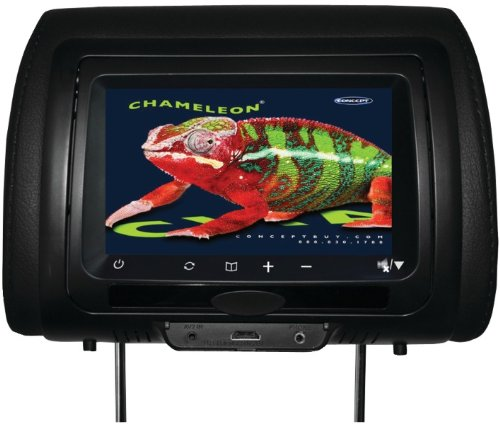 """Concept - 7"""" Chameleon Headrest Monitor With Hd Input, Touch Buttons & High Audio Output (Without Built-In Dvd Player) *** Product Description: Concept - 7"""" Chameleon Headrest Monitor With Hd Input, Touch Buttons & High Audio Output (Without Buil ***"""