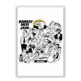PosterGuy Bombay Meri Jaan Comic Art Quirky Illustration Poster