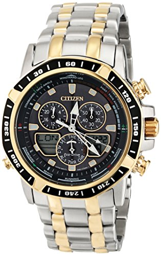 Citizen Men'S Jr4054-56E Sailhawk Analog Display Japanese Quartz Two Tone Watch