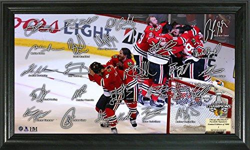 "NHL Chicago Blackhawks 2015 Stanley Cup Champions ""Celebration"" Signature Rink"