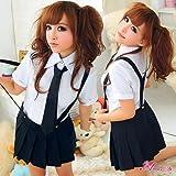 コスプレ 制服 女子高校生 セーラー服 ブラック ホワイト z976こすぷれ 衣装ハロウィーン