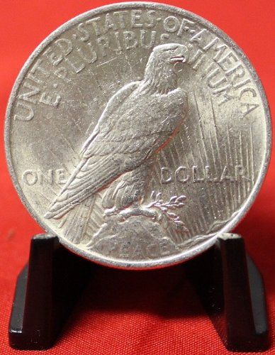 1922 No Mint Mark Peace Dollar Seller Au50