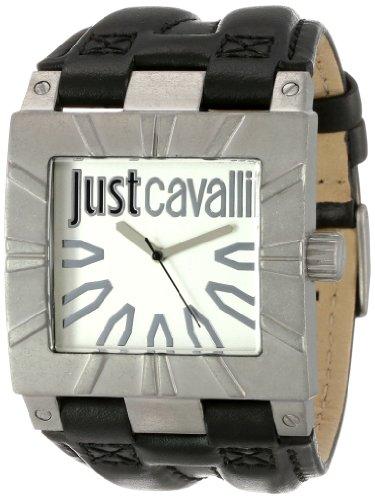 Just Cavalli Men's R7251585502 Timesquare Stainless Steel Vintage Look Case Bezel Watch