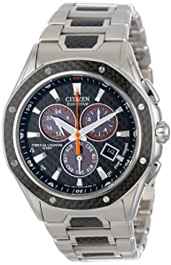 Citizen Men's BL5500-58E Octavia Perpetual Signature Eco-Drive Multi-Function Chronograph Watch