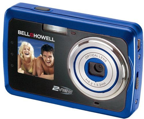 Bell and Howell 2V5-BL 12 Megapixel 2view Digital Camera (Blue)