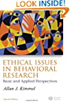 Ethical Issues in Behavioral Research...