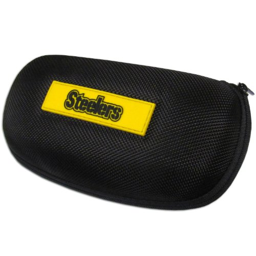 NFL Pittsburgh Steelers Zippered Sunglass Case at Steeler Mania