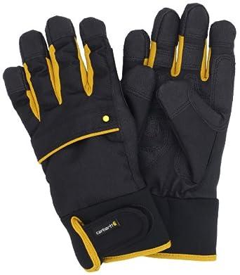 Carhartt Men's Flexer Glove, Blackyel, Medium