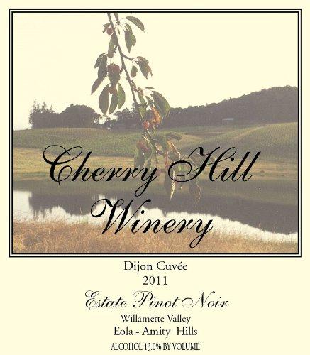2011 Cherry Hill Dijon Cuvée Pinot Noir Willamette Valley 750 Ml