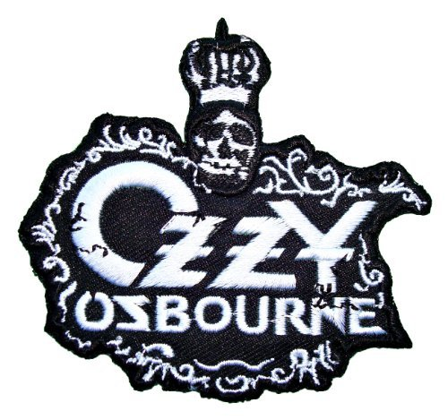 Ozzy Osbourne Songs Music t Shirts Logo MO02 Iron on Patches by MartOnNet Music Patch