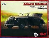 ICM 1/35 Admiral Cabriolet, WWII German Staff Car