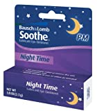 Bausch & Lomb Soothe Lubricant Eye Ointment, Night Time,1/8 oz.