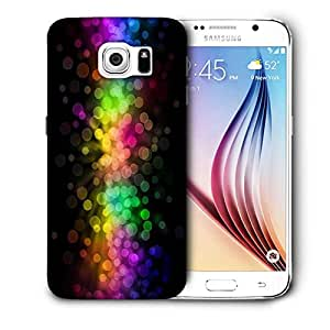 Snoogg Multiple Colorful Bubbles Printed Protective Phone Back Case Cover For Samsung Galaxy S6 / S IIIIII