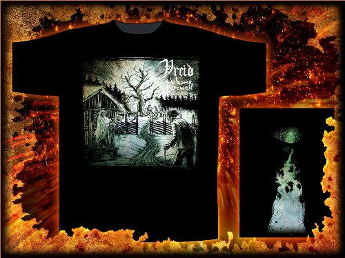VREID   WELCOME FAREWELL        T-Shirt   L