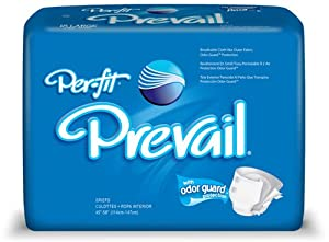 Prevail Per-Fit Line of Adult Briefs (Diaper Style) from First Quality