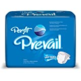 Prevail Per-Fit Adult Briefs, Size X-Large, Full Case of 60 (148-5234)