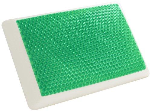 Comfort Revolution Hydraluxe Bubble Gel Bed Pillow Green