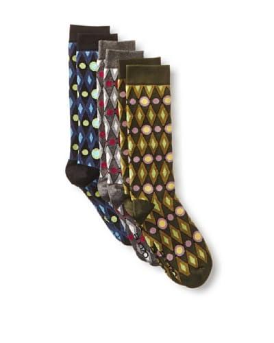 Ozone Men's Decogyle Socks- 3 Pack