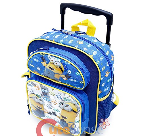 Despicable-Me-Minions-Look-At-You-12-Inches-Rolling-Backpack-36578