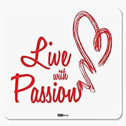 InstaNote Live with Passion Motivational Mousepad