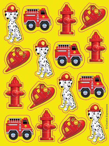 Firefighter Stickers - 1