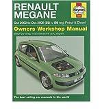 Renault Megane Petrol & Diesel: 2002 to 2008 (Haynes Owners Workshop Manuals (Hardcover)) (Hardback) - Common