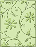 Cuttlebug A2 Stylized Flowers Embossing Folder 37-1232
