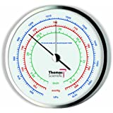 Thomas Traceable Precision Dial Barometer, 1-4hrs Response Time, 954 - 1073 mbar Pressure, 0.5 mbar Resolution