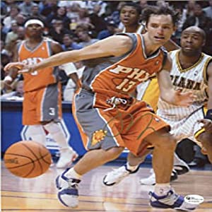 Steve Nash Autographed Phoenix Suns 8x10 Photo - Autographed NBA Photos by Sports Memorabilia