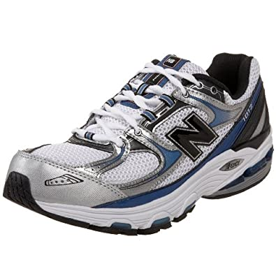 New Balance Men's MR1012 Nbx Motion Control Running Shoe,Silver/Blue,14 D