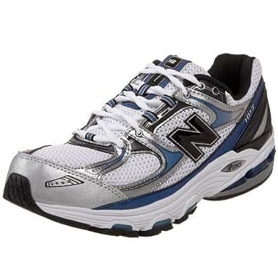 New Balance Men's MR1012 Nbx Motion Control Running Shoe,Silver/Blue,15 D