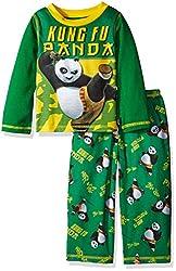 Kung Fu Panda Toddler Boys' 2pc Set, Green, 3T