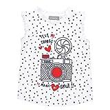 boboli, 461146 - Camiseta Punto Elástico, color estampado topos fondo blanco, talla 3(98cm)