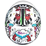 Casco-de-moto-jet-nio-SHIRO-SH-20-Comics-KIDS-color-blanco