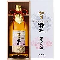 萬歳楽(まんざいらく) 加賀梅酒 5年熟成 桐箱入り 720ml