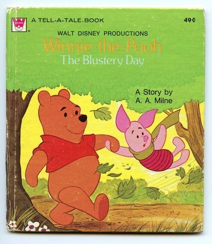 Winnie-the-pooh the Blustery Day 1956 Hardcover PDF