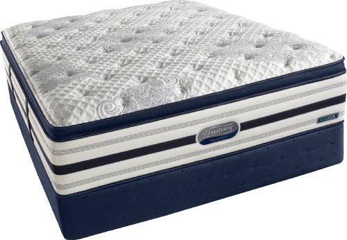 Beautyrest Recharge World Class Sweetbriar View Plush Pillow Top Mattress Set, Queen front-949284