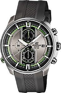 Casio Herren-Armbanduhr XL Edifice Analog Quarz Edelstahl EFR-533PB-8AVUEF