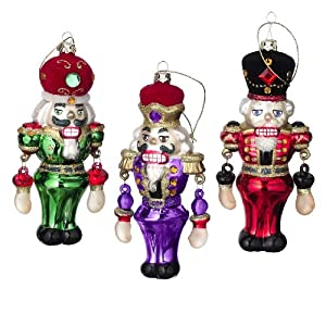 Nutcracker Soldier Ornaments