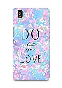 AMEZ do what you love Back Cover For OnePlus X