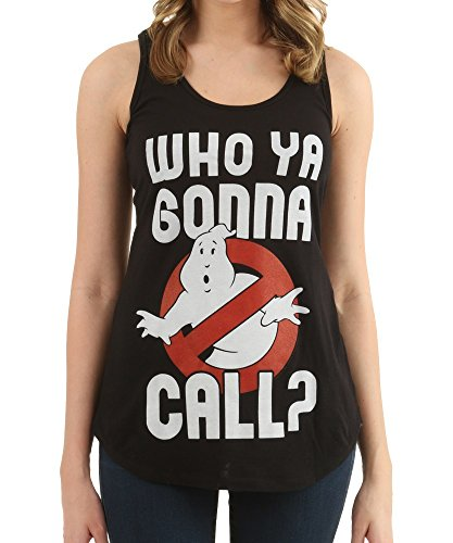 Womens Ghostbusters Who Ya Gonna Call Tank - S to XXL
