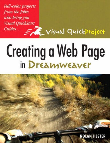 Creating a Web Page with HTML: WITH Creating a Web Page in Dreamweaver AND Creating a Presentation in Powerpoint AND Making a Movie in iMovie and iDVD