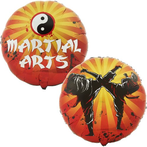 Party Destination 169795 Martial Arts Foil Balloon