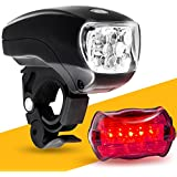 LED Bike Light Set. 65% OFF Promo. Bicycle headlight & taillight combo. Ultrabright 5 LED kit. LIFETIME GUARANTEE. Designed as a light for bike or scooter. Includes FREE high visibility reflectors. Limited Time Intro Offer ENDS SOON! ~ BöG Lights