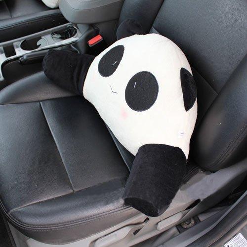 Creative Craft Lumbar Pillow Lumbar Support Cushion Panda, Small