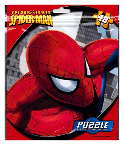 Marvel Spiderman 48 Piece Puzzle on the Go in Foil Bag - 1